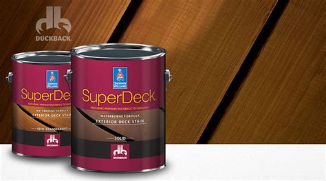 superdeck 174 deck care system sherwin williams