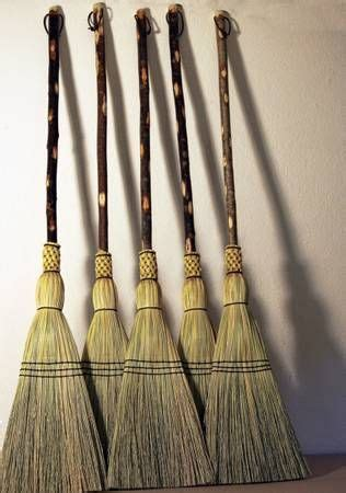 Handmade Brooms - 1800 shaker style handmade corn brooms home decor ideas