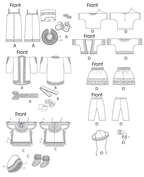 Shirt Pattern Making In Hindi | mccall s 6670 clothes for 18 doll and accessories