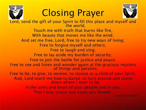 Closing Letter Blessings Closing Christian Prayers Just B Cause
