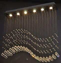 raindrop chandelier modern wave pendant l ceiling lighting