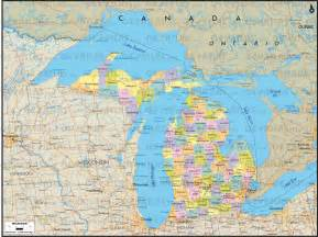 map of canada and michigan map of canada and michigan michigan map