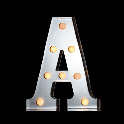 amazon com 12 quot h retro style wall clock metal letters with lights metal led 12 quot marquee