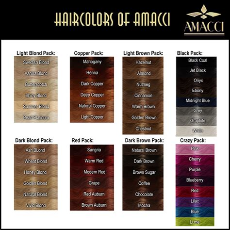 hair color charts march 2011 a 4 all seasons s