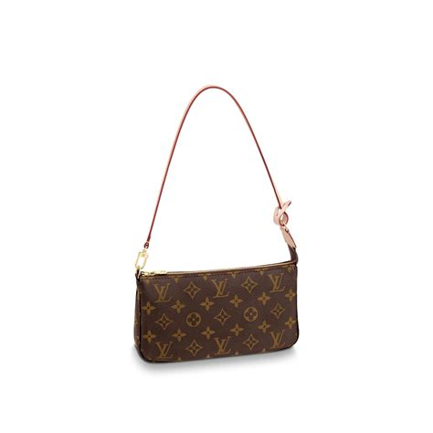 pochette accessoires monogram canvas handbags louis