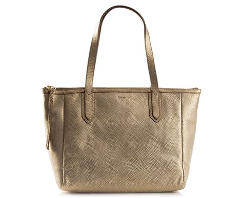 Fossil Sydney Shopper Original Bag Tas Ori Authentic fossil sydney shopper gold great daily deals at australia s favourite superstore scoopon