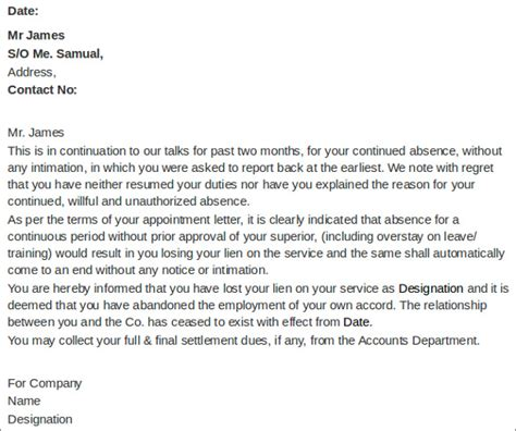 cancellation letter due to sle termination letters 9 employment termination