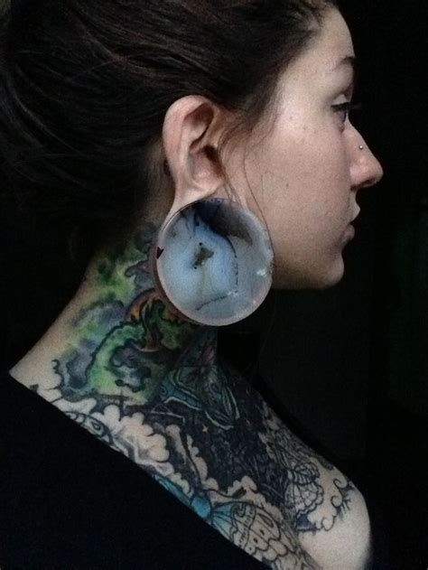 tattoo and piercing piercings gorgeous high nostril large lobes
