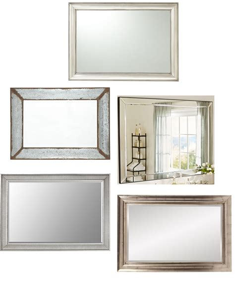 20 large and unique vanity mirrors table and hearth
