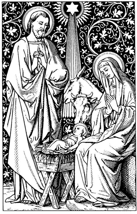 catholic nativity scene coloring pages search results for catholic nativity scene coloring pages