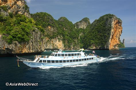 boat from phi phi to krabi transfer to phi phi nearby islands ferry boat