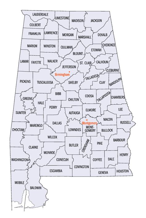 map of alabama counties alabama county map