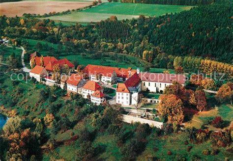 berneuchener haus kloster kirchberg ak ansichtskarte sulz neckar fliegeraufnahme