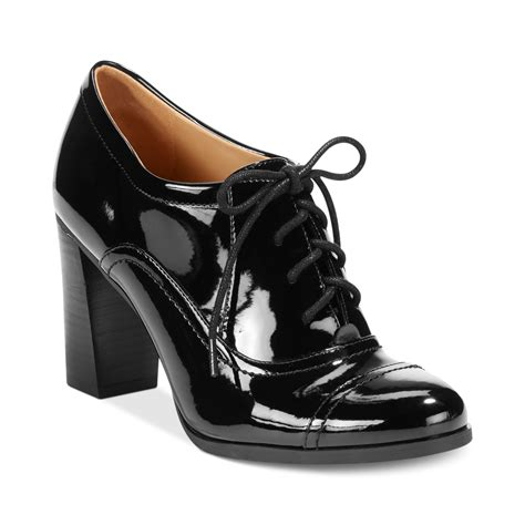 shooties boots nine west nostalgia lace up shooties in black black