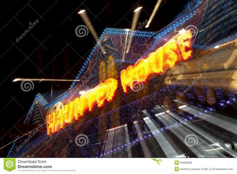 zoom effect special effects haunted house stock images image 34528284