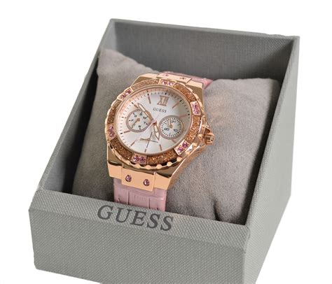 Guess Gs0277 Pink Rosegold guess w0775l3 gold plated with bezel and pink