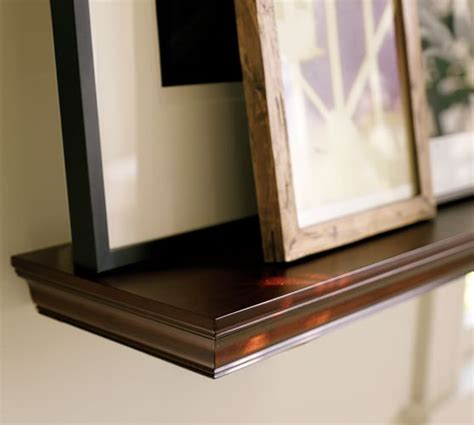 crown molding shelf pottery barn