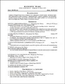 Attorney Resume Samples Attorney Resume Example Sample Attorney Resume