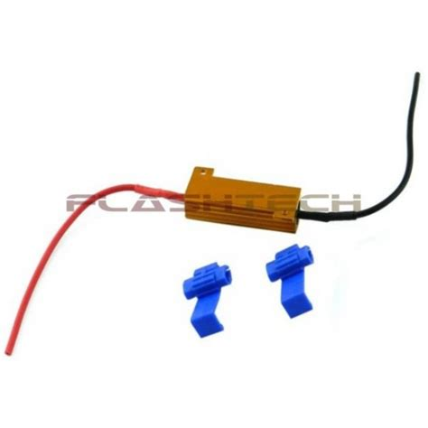 led resistor 50 watt 8 ohm load resistor