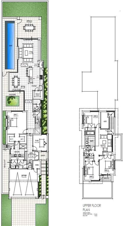 floor plan friday narrow but large 2 storey home 85 best layout images on pinterest floor plans