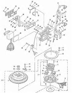 mariner 60 hp 2 cylinder ignition system parts