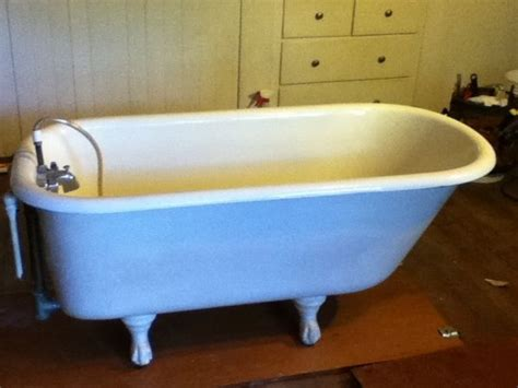 bathtubs 4 feet long 1000 images about claw foot tubs on pinterest yellow
