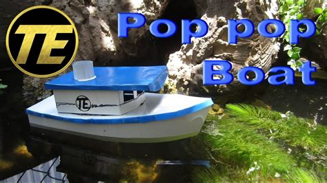 how to make a pop pop boat youtube d i y how to make a pop pop boat youtube