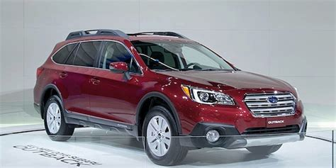 red subaru outback 2017 2017 subaru outback red 200 interior and exterior images