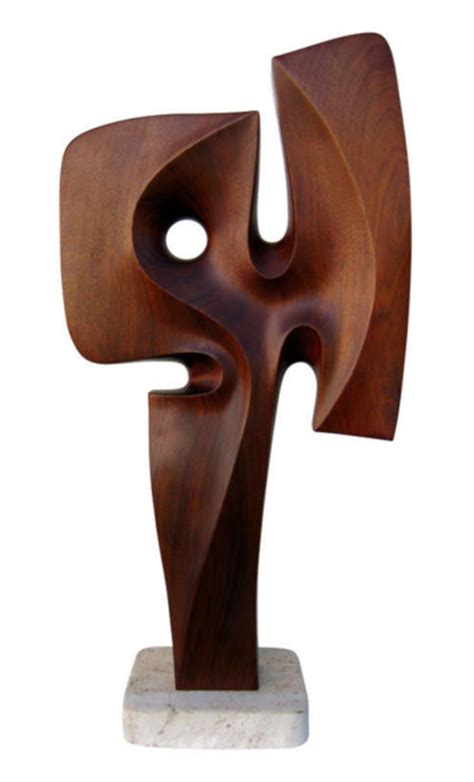 Home Design Eras Power Carved 1970 S Abstract Sculpture Brownell Furniture