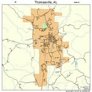 thomasville map thomasville alabama map 0175960