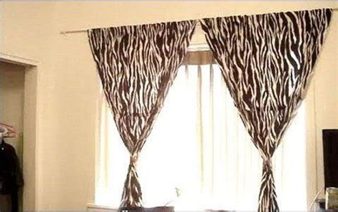 diy curtains without rods how to hang curtains without making holes in the wall