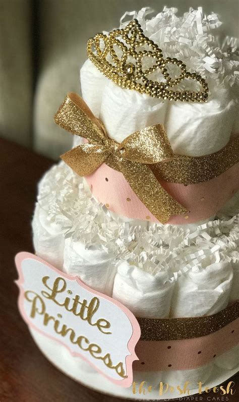 Pink Baby Shower Centerpieces by Pink And Gold Cake Baby Shower Centerpiece Baby