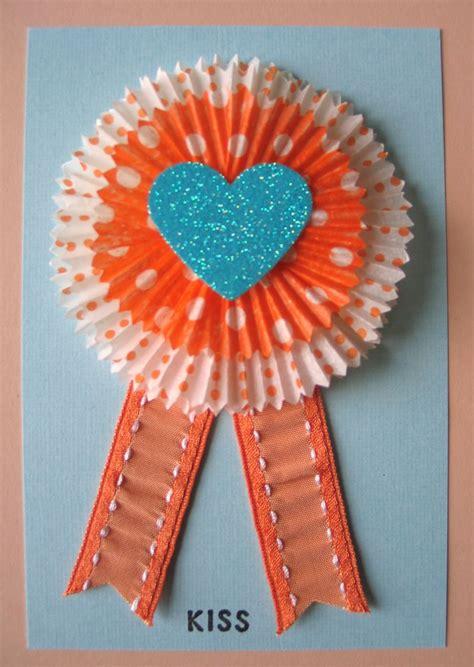 cupcake liner cards fun family crafts