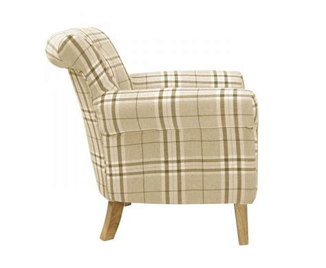 Upholstered Occasional Arm Chair Steeler Check Upholstered Occasional Chair Just Armchairs