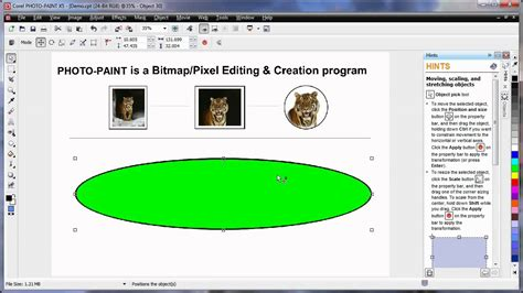 corel draw x5 learning video en 09 learning the basics corel photo paint x5 part