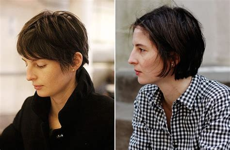 hair styles while growing into a bob tips for cutting your hair short or growing it out