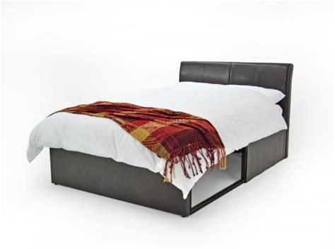 Bed Frames 150 Metal Beds 5ft 150cm Kingsize Brown Faux Leather
