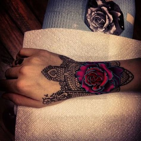rose tattoo hand tumblr 101 awesome hand tattoos that will inspire you to get inked