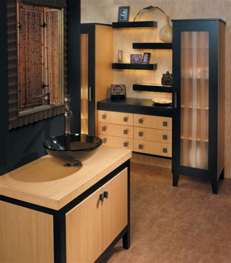 Creek Cabinets by Creek Millennia Solano Quattro In Bamboo