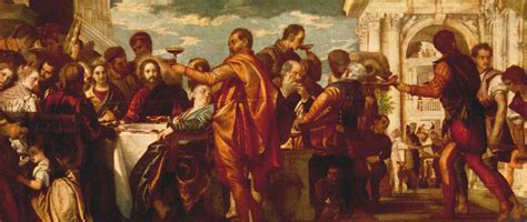 Wedding At Cana Renaissance by The Marriage At Cana Paolo Veronese Wikiart Org