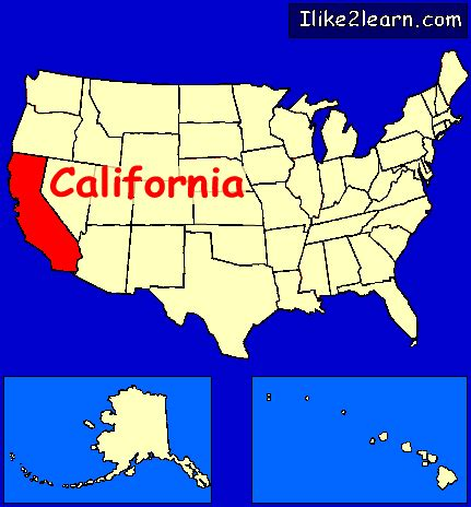 american map california california