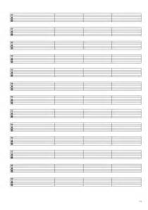 Printable Blank Sheet by Blank Guitar Tabs New Calendar Template Site