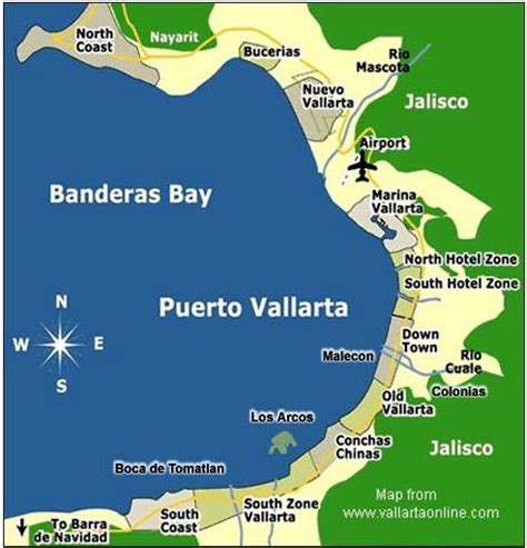 vallarta map of mexico 25 best ideas about vallarta on