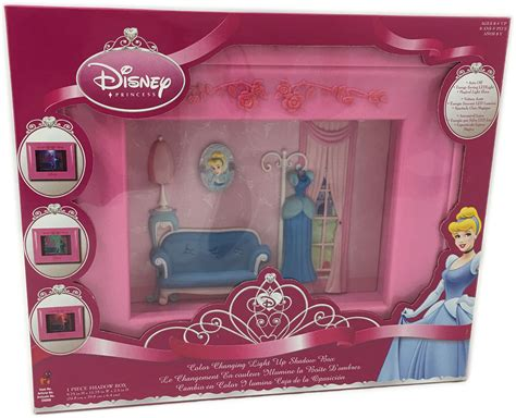 my little light box hipster disney characters disney princess colour changing light up shadow box