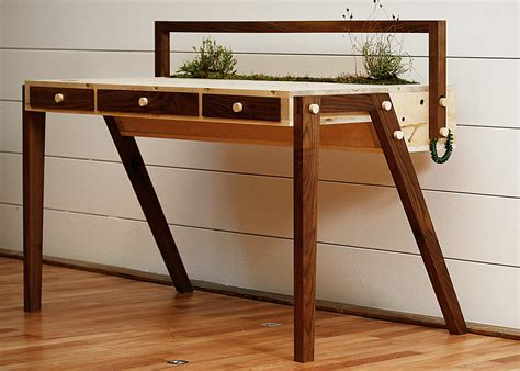 desk garden love hulten s senescent desk comes with an enchanting self