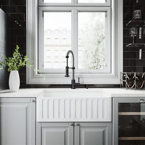 shop superior sinks 18 in x 30 in satin brush stainless shop vigo matte stone 18 in x 30 in matte single basin