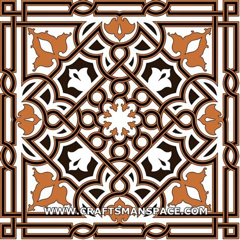 islamic pattern dxf arabesque from the great mosque in damascus free
