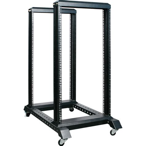 Four Post Rack by Istarusa Wo22ab 4 Post Open Frame Rack 22u Wo22ab B H Photo