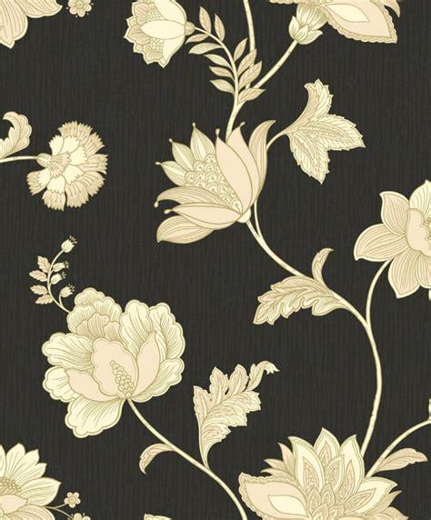 wallpaper black cream black wallpaper cream flowers all wallpapers desktop