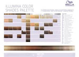 wella color chart wella professionals illumina color shades palette 34